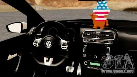 Volkswagen Polo GTI para la visión correcta GTA San Andreas