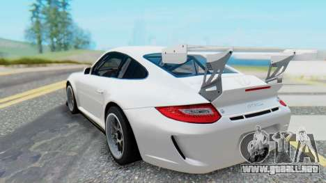Porsche 911 GT3 Cup para GTA San Andreas vista posterior izquierda