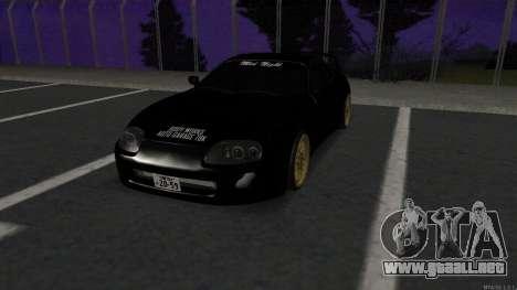 Toyota Supra Mid Night para GTA San Andreas
