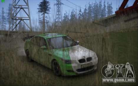 BMW m5 e60 Verdura para GTA San Andreas