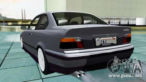 BMW M3 Coupe E36 (320i) 1997 para GTA San Andreas left