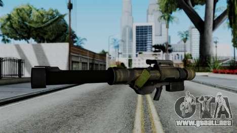 CoD Black Ops 2 - FHJ-18 para GTA San Andreas segunda pantalla