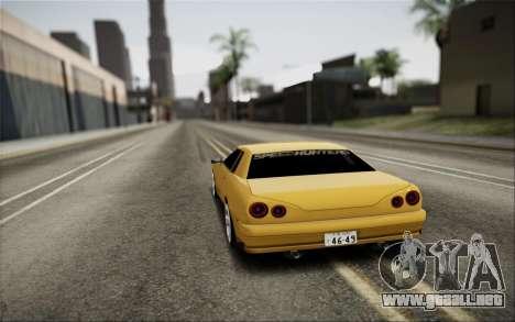 Elegy Speedhunters para GTA San Andreas left