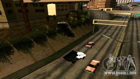 ZIL 130 para GTA San Andreas vista hacia atrás