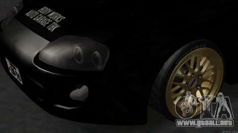 Toyota Supra Mid Night para la visión correcta GTA San Andreas