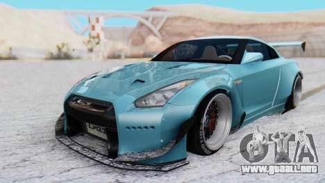 Nissan GT-R R35 Rocket Bunny v2 para GTA San Andreas