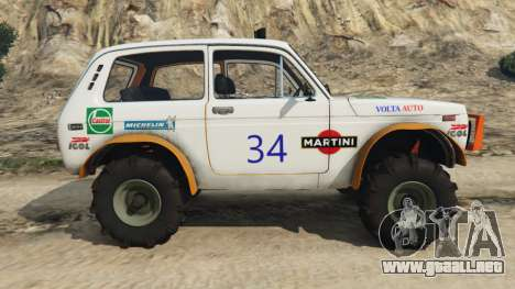 GTA 5 VAZ-2121 [off-road] vista lateral izquierda