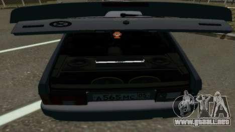 VAZ 2114 Brodyaga para la visión correcta GTA San Andreas