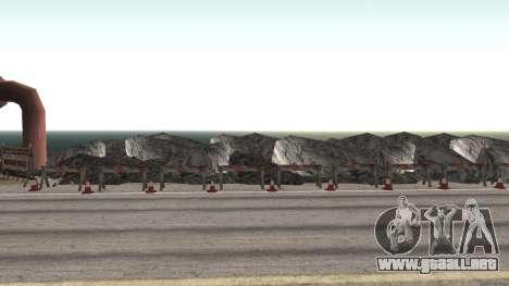 Road repair Los Santos - Las Venturas para GTA San Andreas séptima pantalla