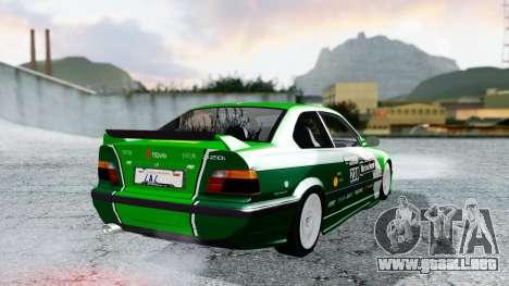 BMW M3 Coupe E36 (320i) 1997 para el motor de GTA San Andreas
