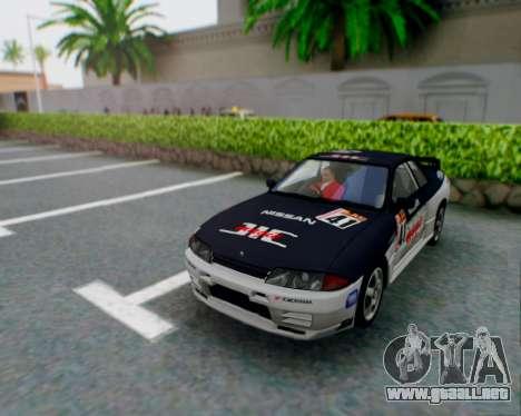 Nissan Skyline R32 GTR para la vista superior GTA San Andreas
