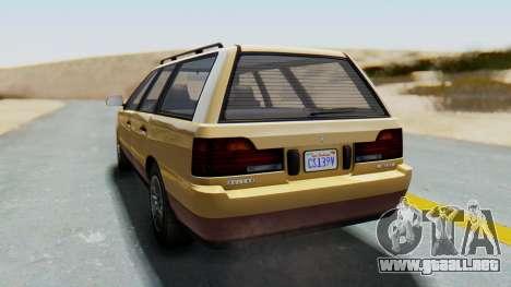 GTA 5 Vulcar Ingot para GTA San Andreas left
