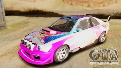 GTA 5 Karin Sultan RS para vista lateral GTA San Andreas