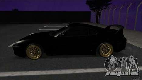 Toyota Supra Mid Night para GTA San Andreas left