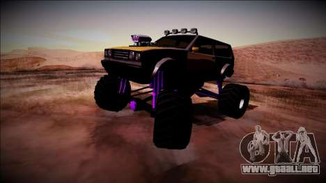 Club Monster Truck para la visión correcta GTA San Andreas