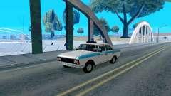 Moskvitch 412 De La Policía para GTA San Andreas