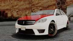 GTA 5 Benefactor Schafter V12 Arm IVF para GTA San Andreas