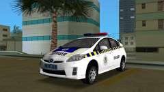 Toyota Prius De La Policía De Ucrania
