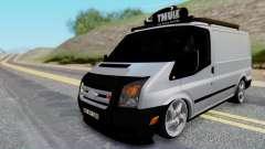 Ford Transit 2007 Model AirTran para GTA San Andreas