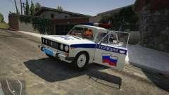 VAZ 2106 Policía