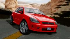 GTA 5 Declasse Premier Coupe IVF para GTA San Andreas