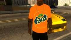 T-Shirt Fanta para GTA San Andreas
