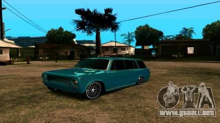 VAZ 2102 БПАN para GTA San Andreas