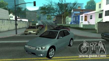 Toyota Altezza Tunable para GTA San Andreas