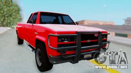 GTA 5 Vapid Bobcat XL para GTA San Andreas