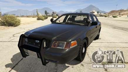 FBI Ford CVPI para GTA 5