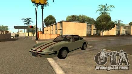 Porsche 911 Targa 1974 para GTA San Andreas