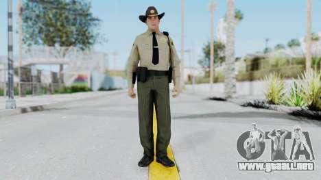 GTA 5 Sheriff para GTA San Andreas segunda pantalla