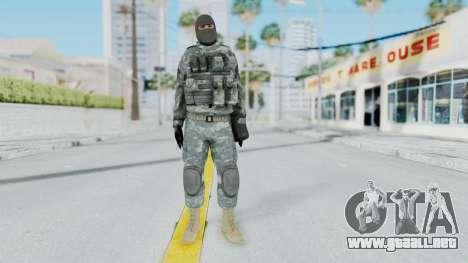 Acu Soldier 3 para GTA San Andreas segunda pantalla