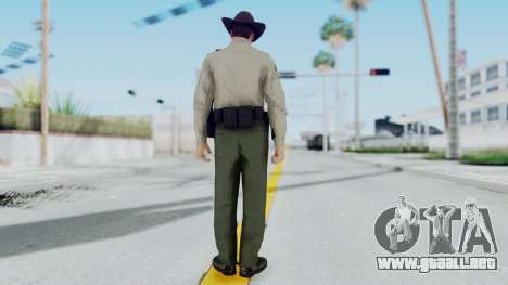GTA 5 Sheriff para GTA San Andreas tercera pantalla