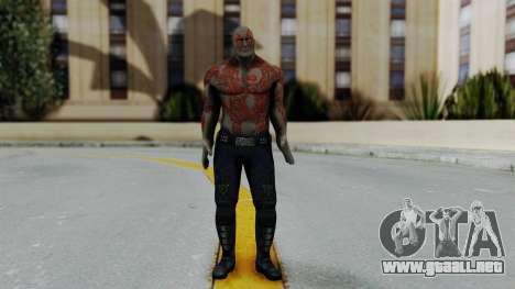 Marvel Heroes - Drax para GTA San Andreas segunda pantalla