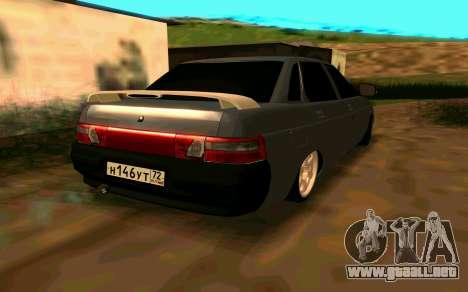 VAZ 2110 v. 2.0 para GTA San Andreas left