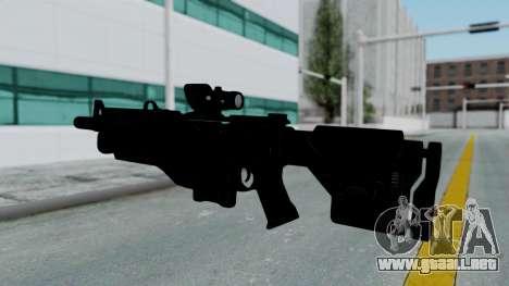 Kusanagi ACR-10 Assault Rifle para GTA San Andreas tercera pantalla