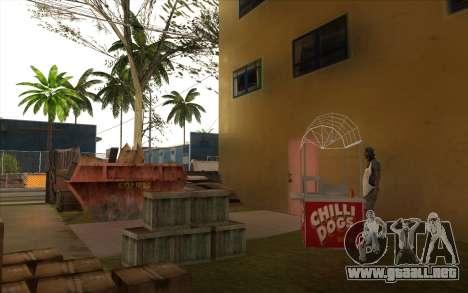 El trabajo de reparación de la Calle Grove para GTA San Andreas undécima de pantalla