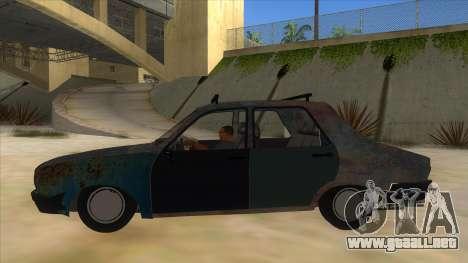 Dacia 1310 Rusty v2 para GTA San Andreas left