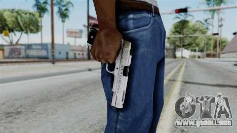 For-h Gangsta13 Pistol para GTA San Andreas tercera pantalla