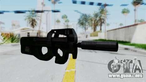 P90 Green para GTA San Andreas