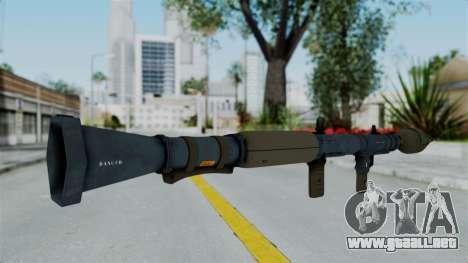 GTA 5 RPG para GTA San Andreas segunda pantalla
