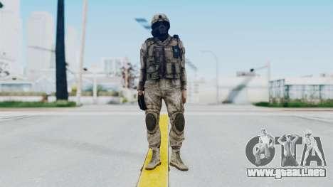 Crysis 2 US Soldier 9 Bodygroup A para GTA San Andreas segunda pantalla