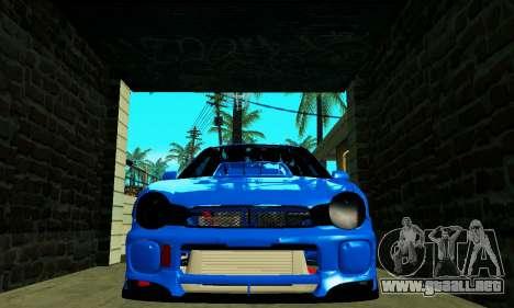 Subaru Impreza WRX STi Wagon 2003 para la visión correcta GTA San Andreas