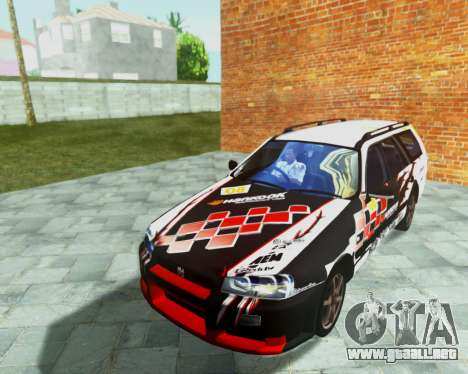 Nissan Stagea Tunable para la vista superior GTA San Andreas