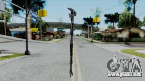 No More Room in Hell - FUBAR Wrecking Bar para GTA San Andreas