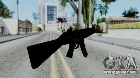 No More Room in Hell - MP5 para GTA San Andreas tercera pantalla