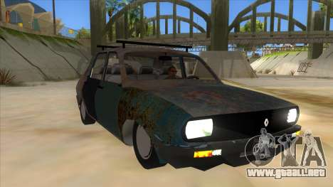 Dacia 1310 Rusty v2 para GTA San Andreas vista hacia atrás