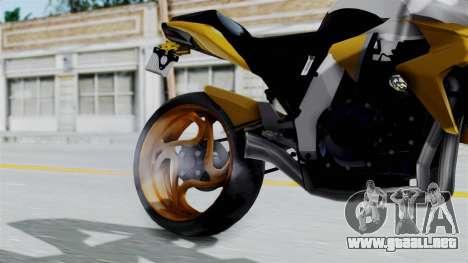 Honda CB1000R v2 para la visión correcta GTA San Andreas