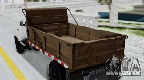 GTA 5 Tipper Second Generation para la visión correcta GTA San Andreas